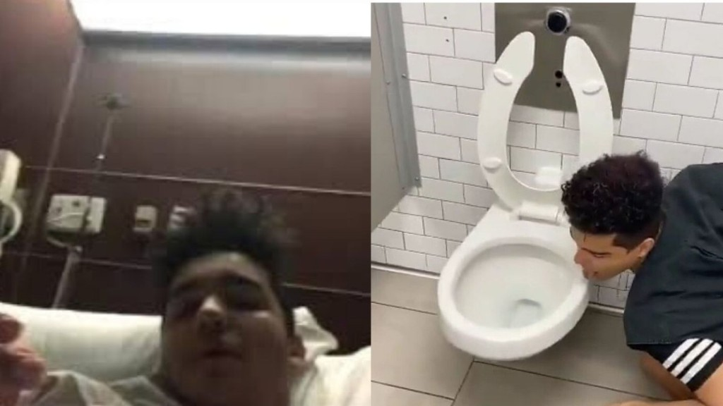 After Licking a Toilet Seat for Online Fame, Influencer Claims He Has Coronavirus