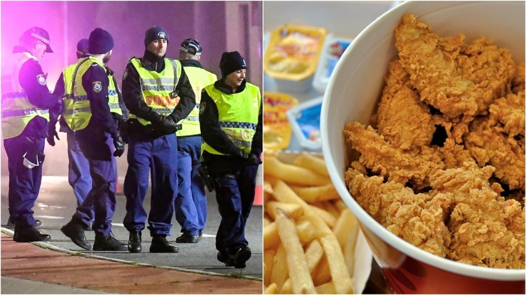 Cops Raid Melbourne Party During Lockdown After Guests Put in a 20-Meal Order With KFC
