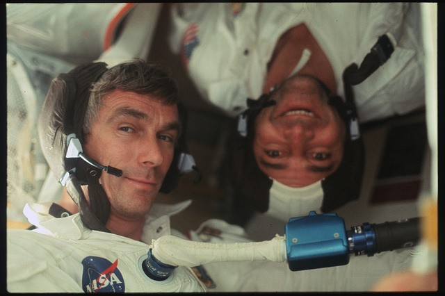 The Sickest Never-Before-Seen Photos from NASA's Apollo Mission