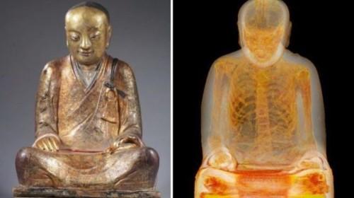 Mummified Monk Found Inside Buddha Statue