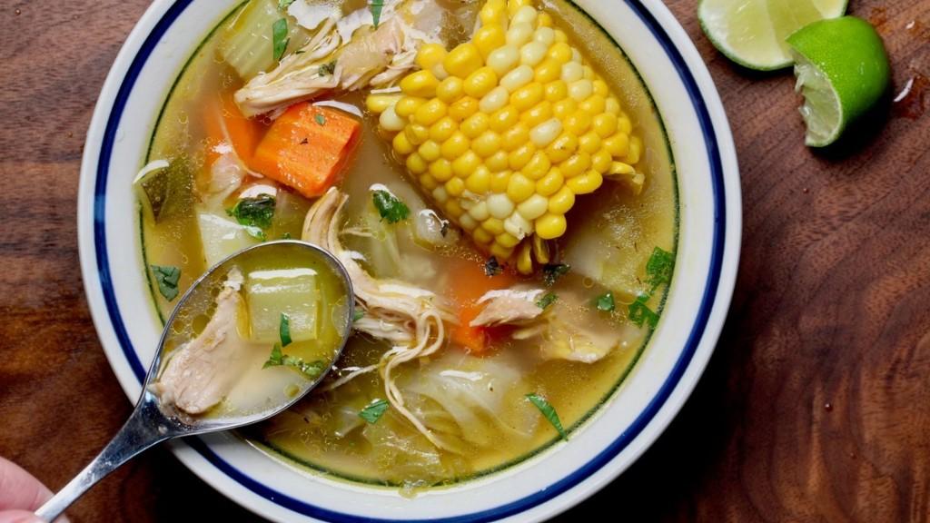 Sopa de Pollo Recipe (Nicaraguan Chicken Soup)