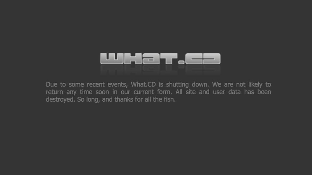​Remembering what.cd, the Internet's Greatest Music Archive