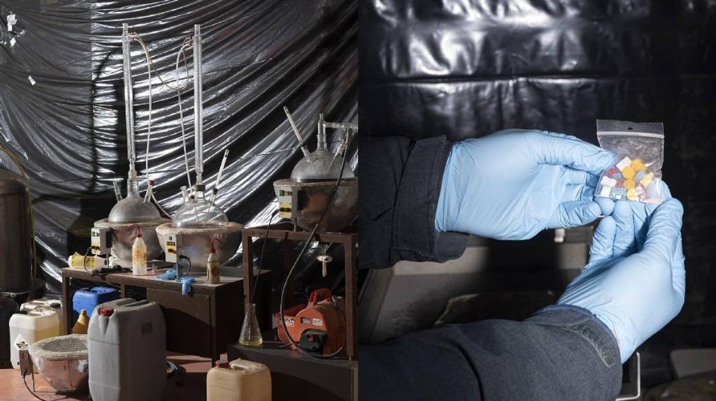 Mystieke en grimmige foto's van de Brabantse drugsindustrie