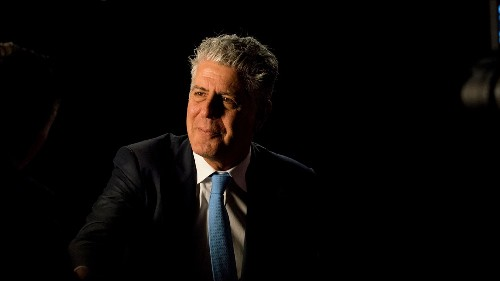 One Last Piece of Life Advice from Anthony Bourdain