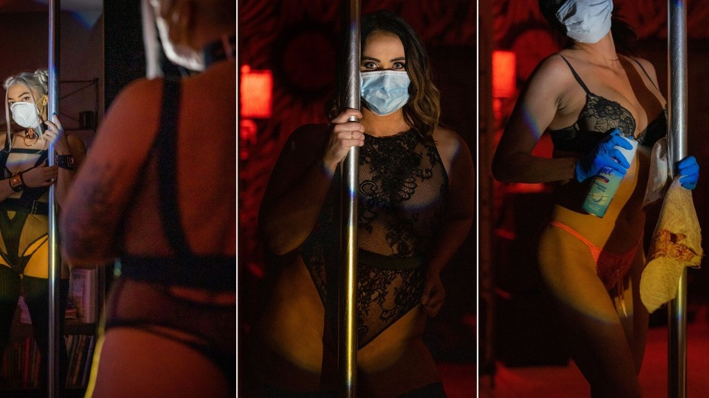 Inside the Newly Reopened, Socially Distanced Strip Clubs of America