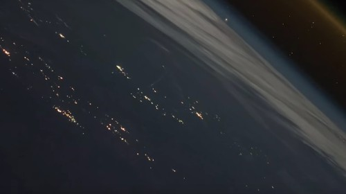 Watch a Spaceship Leave Earth in Stunning ISS Video