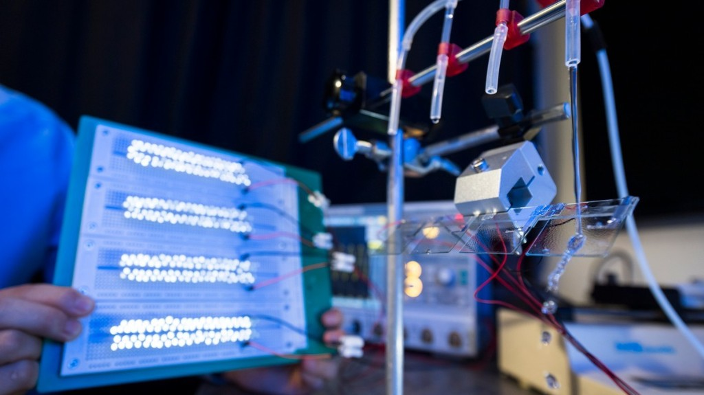 This Renewable Energy Device Powers 100 LEDs with a Single Drop of Water