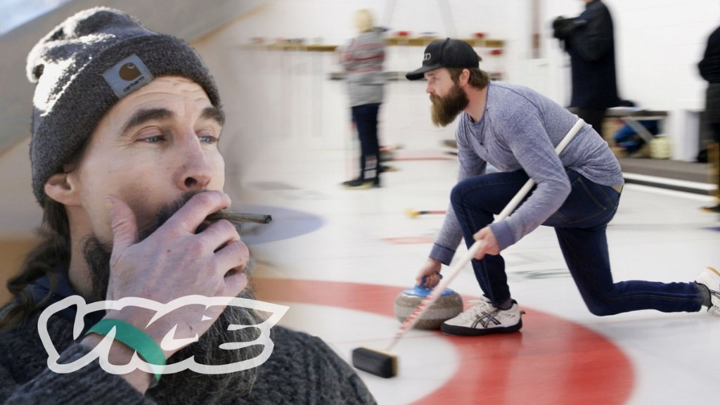 Inside Canada's First Weed Curling Tournament