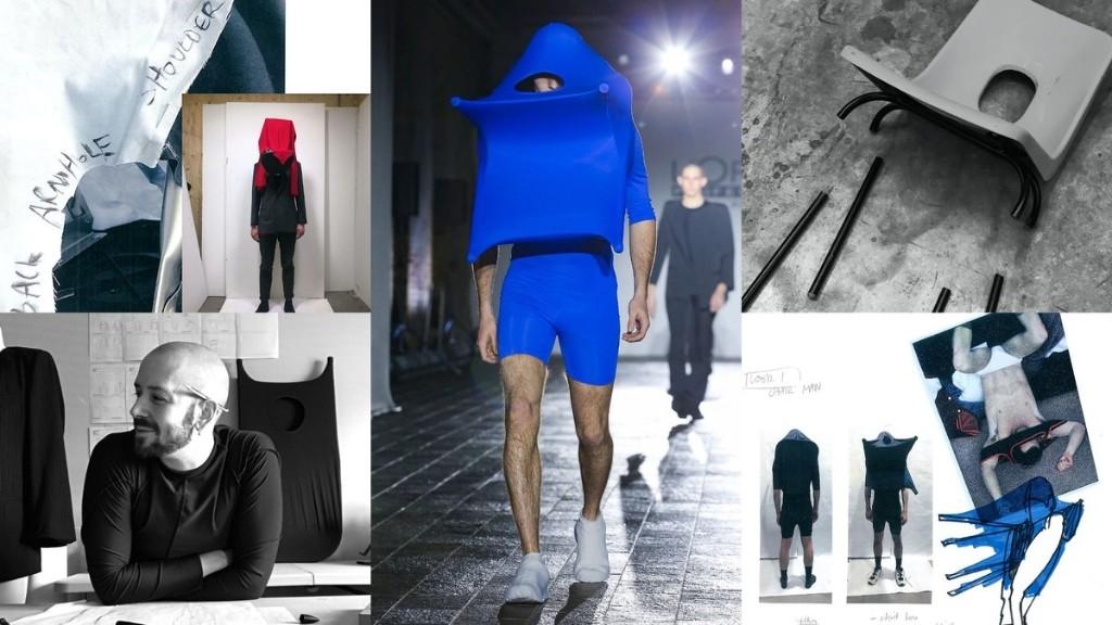 Rencontrez Alex Wolfe, le gagnant dans la catégorie menswear lors du premier Global Design Graduate Show