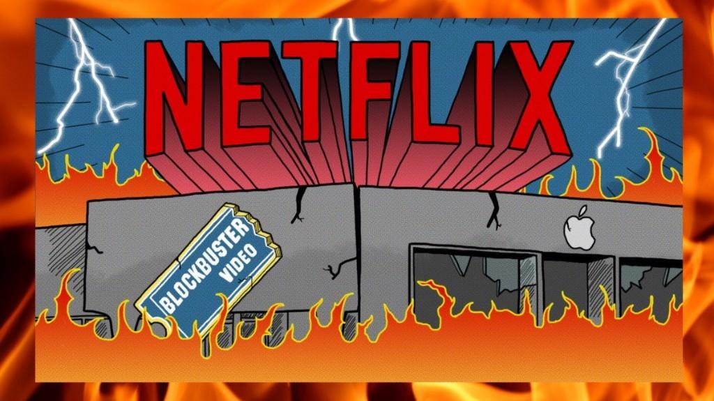 Como a Netflix dominou o mundo