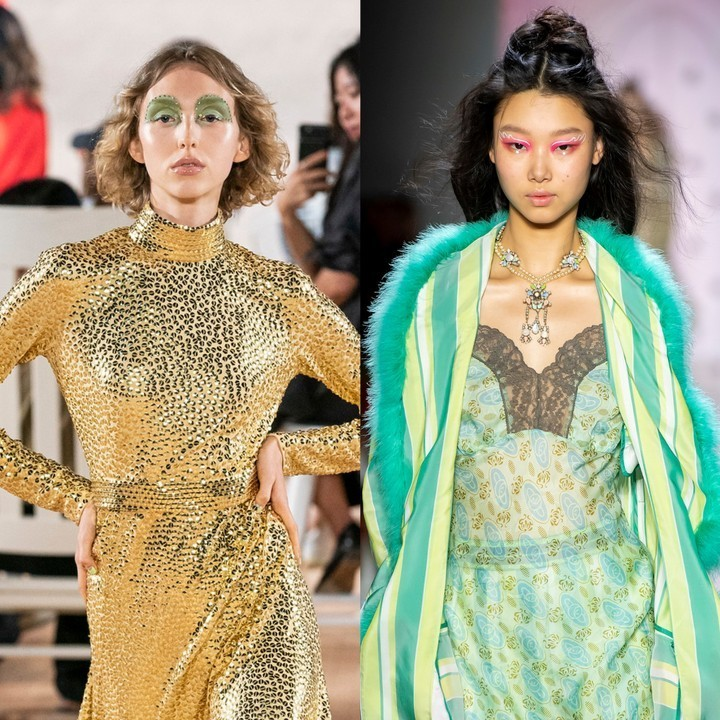 why bold, bedazzled makeup is everywhere