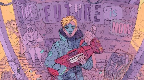 Cyberpunk Illustrations of a Dystopian Future