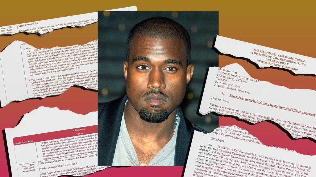 Some Artists Get Screwed by Their Labels, But Kanye Isn't One of Them