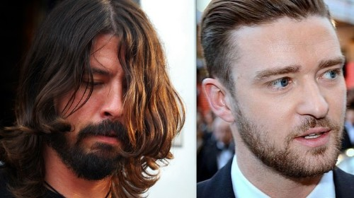 Dave Grohl's Been Drinking Whiskey in a Parking Lot with Justin Timberlake