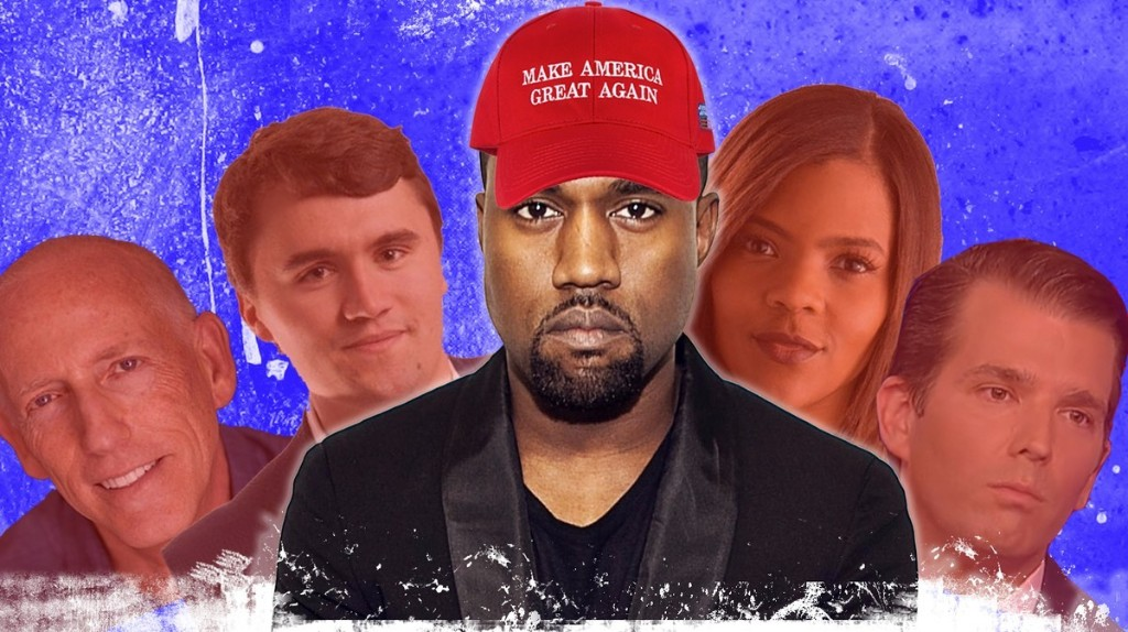 A Guide to the Right-Wing Losers Who Suddenly Love Kanye West