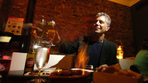 Anthony Bourdain Helped Me Find Inspiration in My Waitressing Job