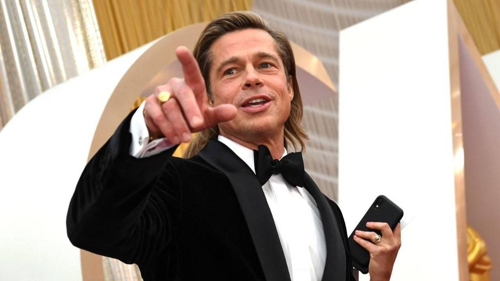 We Finally Found Out Who's Been Writing Brad Pitt's Awards Season Jokes