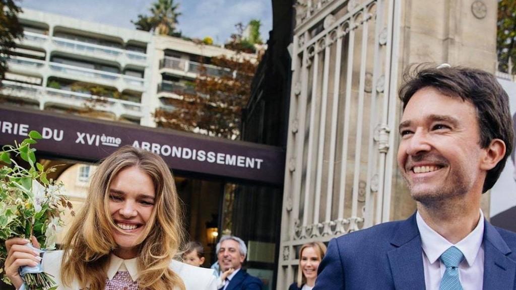 Natalia Vodianova Marries Antoine Arnault in Ulyana Sergeenko Couture