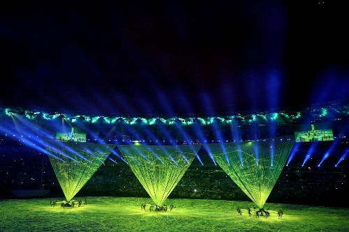 Live From Rio! All the Highlights From This Year's Spectacular Opening Ceremony