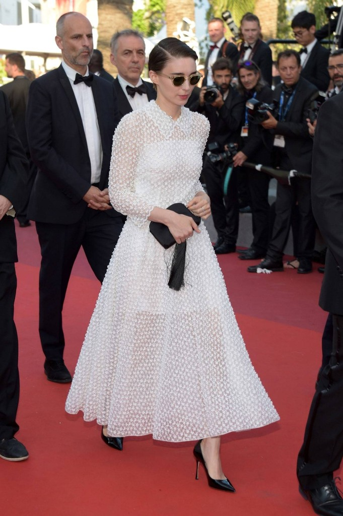 Rooney Mara Picks Dior for Her First Cannes Red Carpet With Joaquin Phoenix