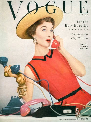 A 1953 Vogue Cover Takes On a Whole New Meaning Amidst the Coronavirus Pandemic