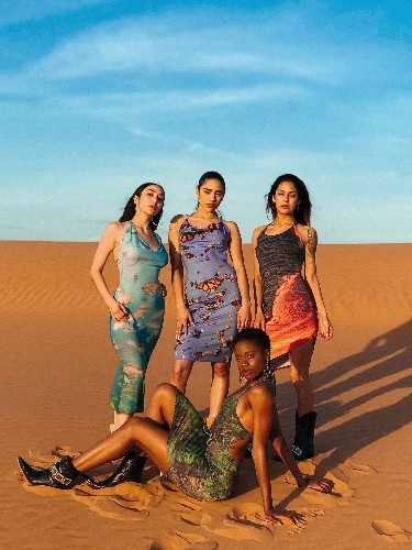 This New Sustainable Fashion Line Features Prints Made From National Geographic Photographs
