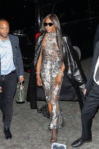 Naomi Campbell Stole the Show at Paris Fashion Week Men's
