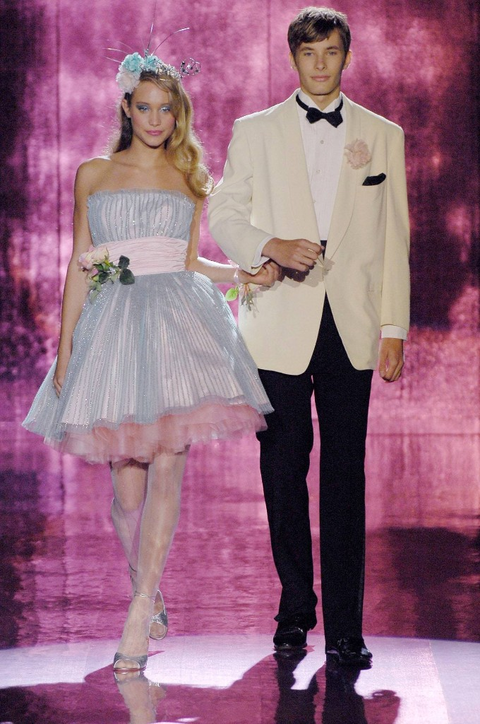 A Prom Night #TBT Courtesy of Betsey Johnson