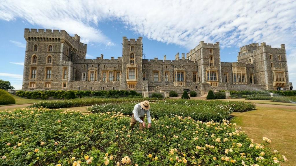 The Queen Is Offering a Rare Look Into Her Secret Windsor Castle Garden