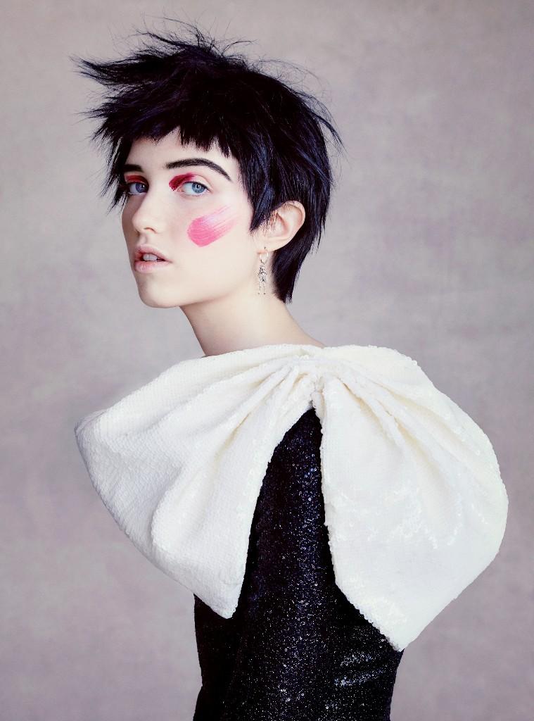 fashion photography. - Magazine cover