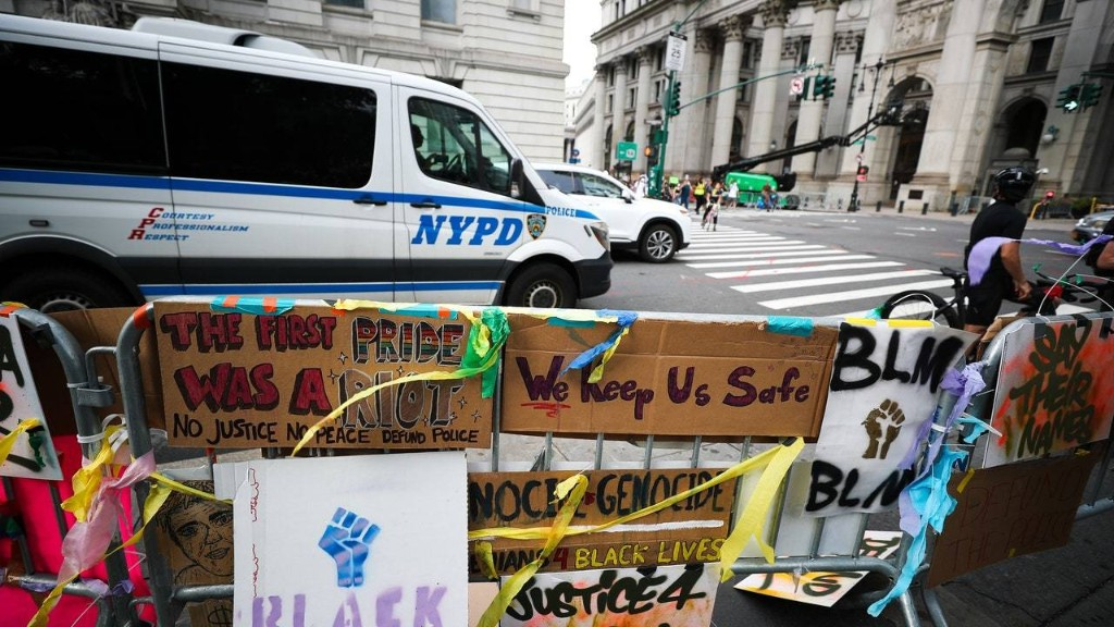 How NYC's Occupy City Hall Movement Is Building Community in the Face of Police Violence
