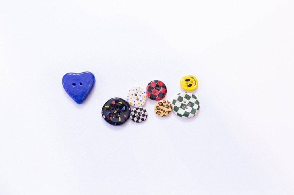 Spice Up Your WFH Outfit with Artist Diana Rojas's Ceramic Buttons