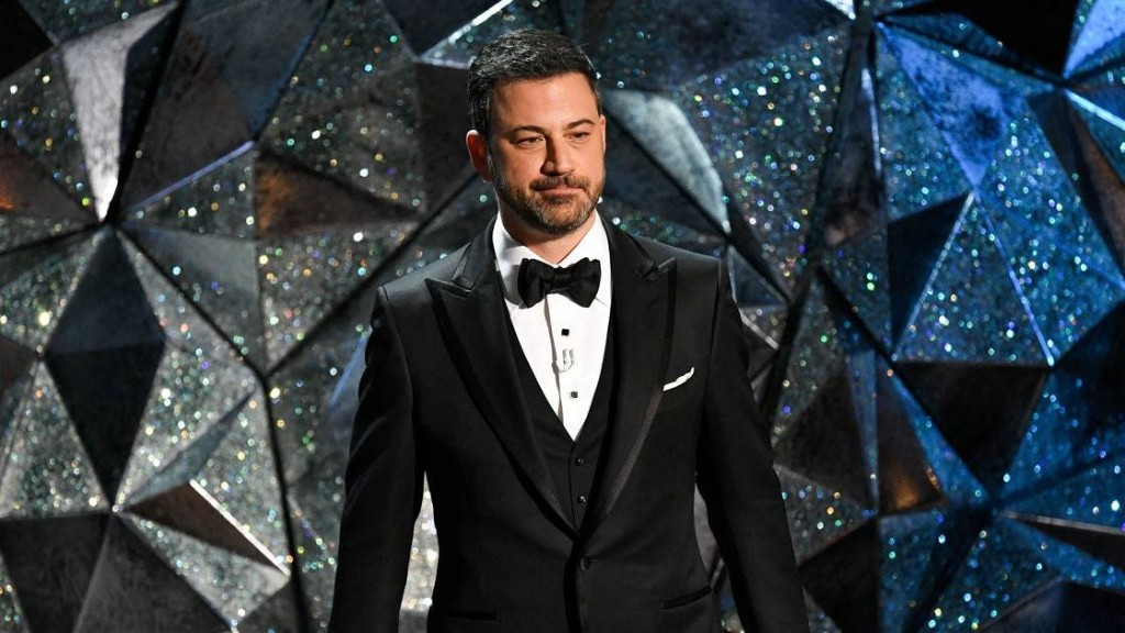 Jimmy Kimmel Went There in His Oscars Monologue