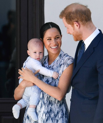 Archie Mountbatten-Windsor Makes His First Adorable Appearance in South Africa