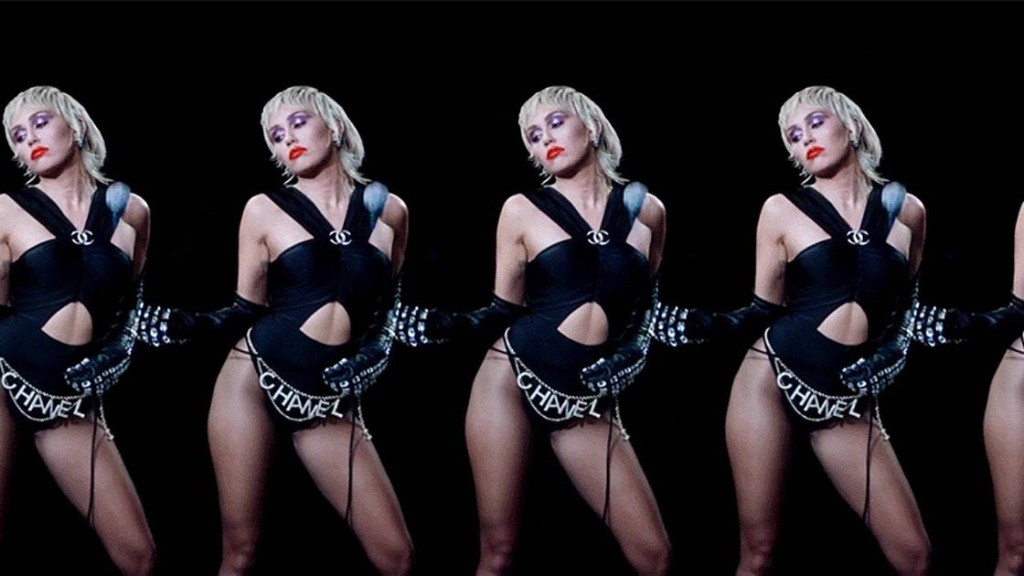 """Miley Cyrus Takes Disco Makeup to the Next Level in Her New """"Midnight Sky"""" Music Video"""