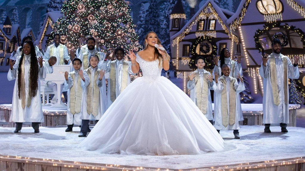 Mariah Carey's Holiday Special Has the Festive, Fabulous Fashion to Match