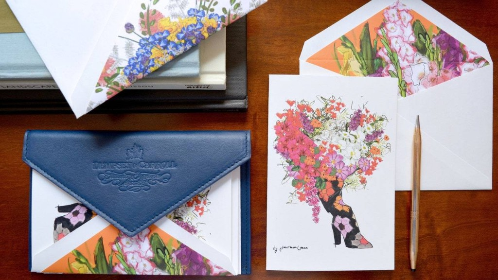 Jonathan Cohen Launches a Floral-Filled Stationery Line with Dempsey & Carroll