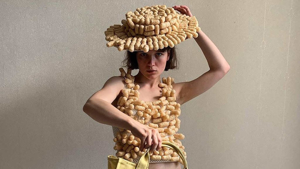 Meet the 19-Year-Old Russian Artist Who Turned Corn Puffs and Toilet Paper Into Fashion for Marc Jacobs