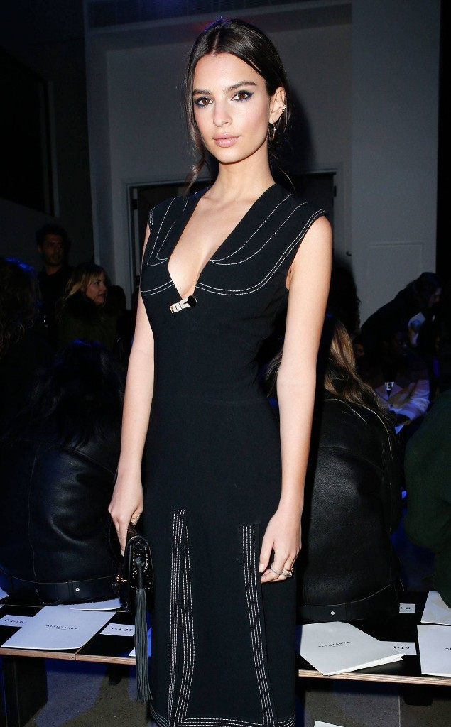 How Emily Ratajkowski Takes a Ladylike Beauty Signature to the Next Level at Altuzarra