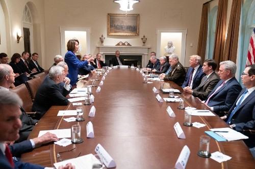 4 Art Experts Analyze That Historic Nancy Pelosi vs. Donald Trump Photo