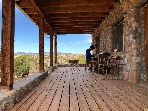 How I Ended Up Living Off the Grid in New Mexico