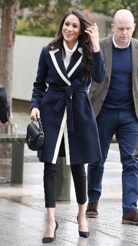 Meghan Markle's J. Crew Coat Is Already Sold Out