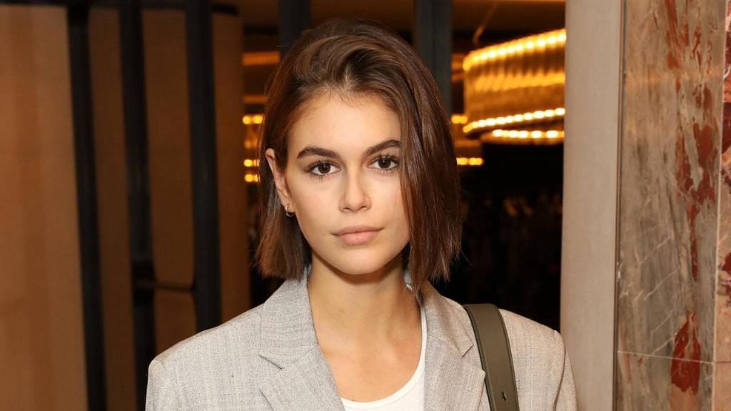 Kaia Gerber Shows Off Her New (Punny) Tattoo With Cara Delevingne
