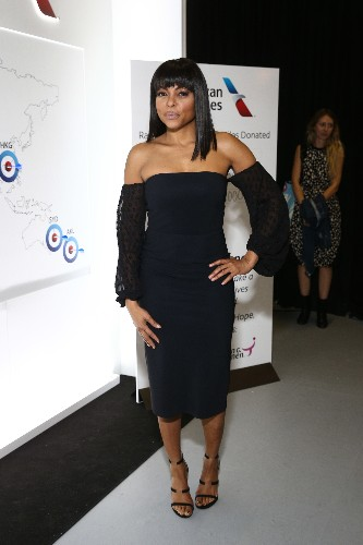 Taraji P. Henson Nails This Season's Off-the-Shoulder Trend