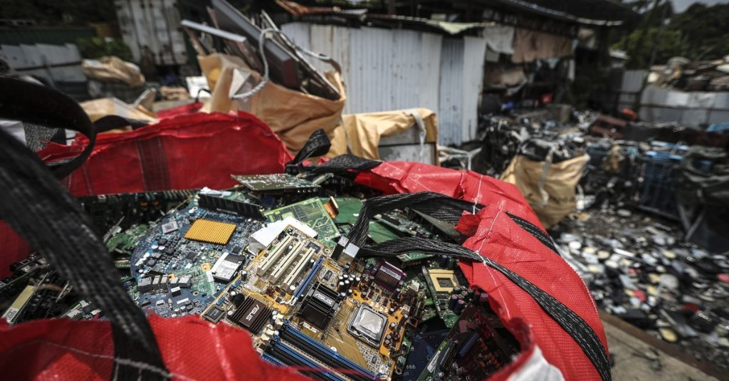 Humans left behind a record amount of e-waste in 2019