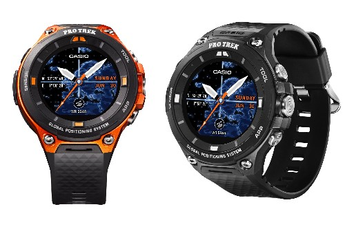 Casio's new outdoor smartwatch adds GPS, offline maps, and Android Wear 2.0