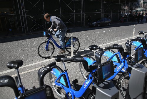 Citi Bikes can now be rented through the Lyft app