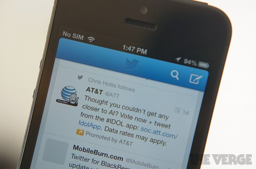Twitter advertisers can now show ads when users tweet specific keywords