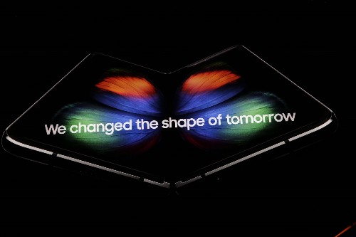 Samsung's foldable phone is the Galaxy Fold