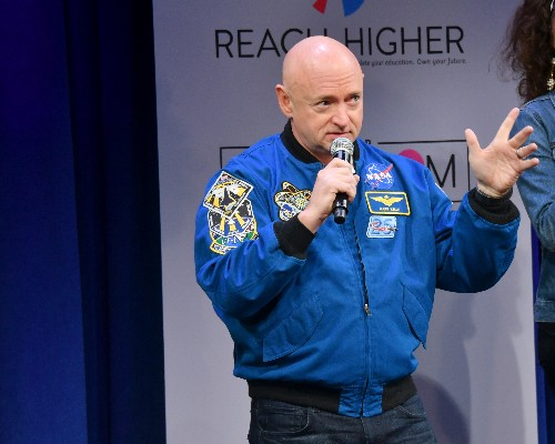 Former NASA astronaut Mark Kelly hopes to bring some science to the Senate